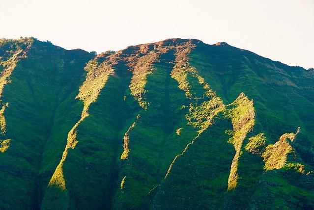 napali coast in kauai