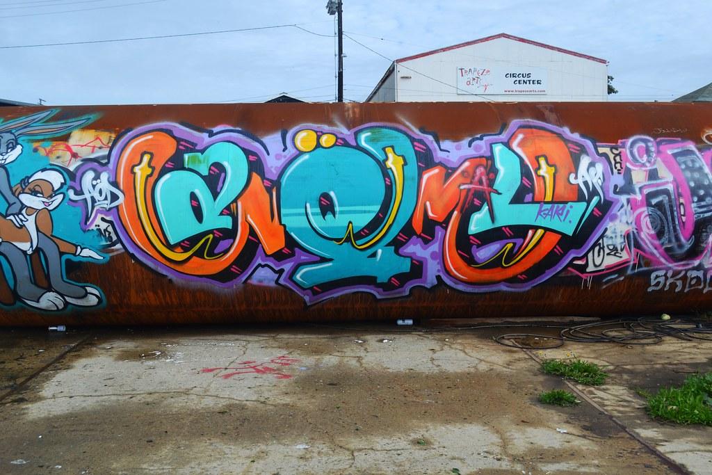 ANEMAL,PI, AOD, Graffiti, Oakland, East Bay, Bayarea, AF