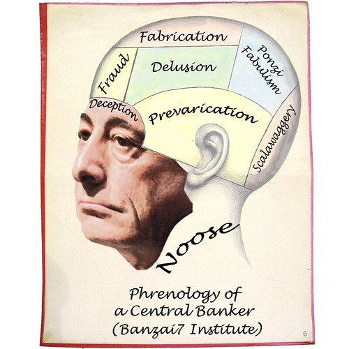 PHRENOLOGY OF A CENTRAL BANKER by Colonel Flick/WilliamBanzai7