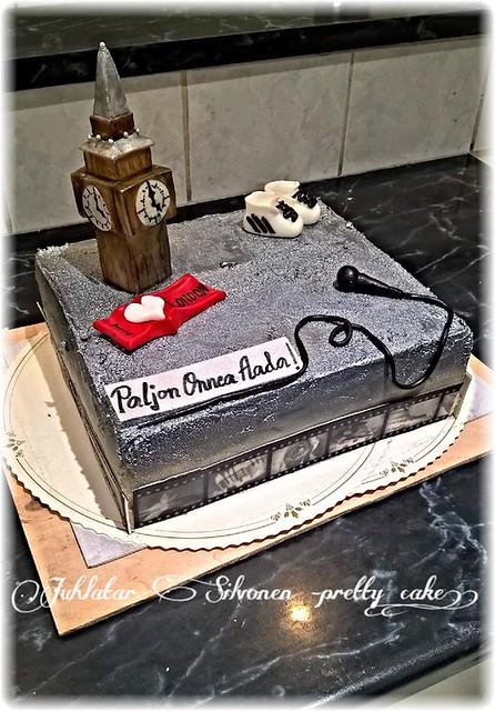 Birthday Cake by Juhlatar Silvonen -Pretty cake