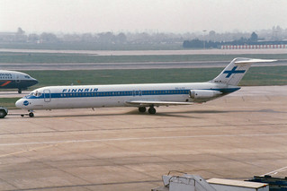 Finnair McDonnell Douglas DC-9-51 OH-LYV