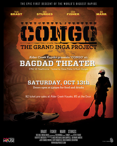 Congo The Grand Inga Project @ Bagdad Theater