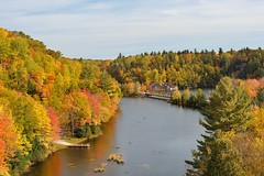 The old 510 Dead river Bridge Marquette, Michigan by Michigan Nut