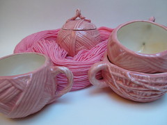 The ceramic yarn collection: Miami Pink