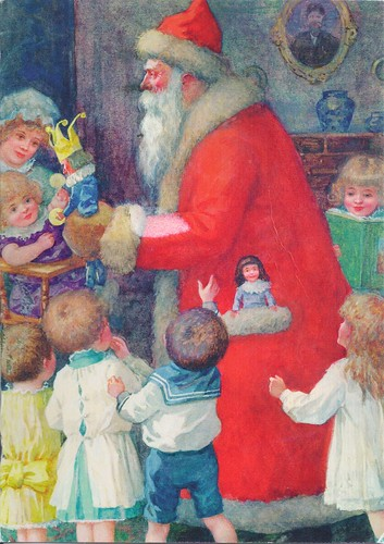Santa Claus with Children