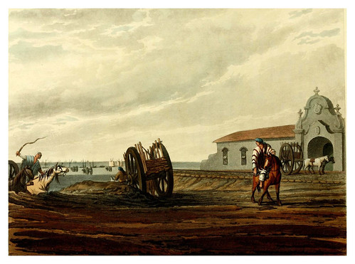 004-La aduana de Buenos Aires-Picturesque illustrations of Buenos Ayres and Monte Video..-1820- Emeric Essex Vidal