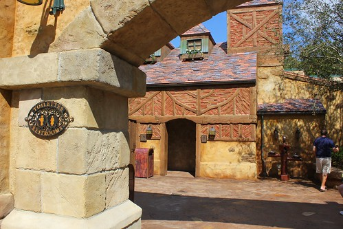 Belle's Village in New Fantasyland