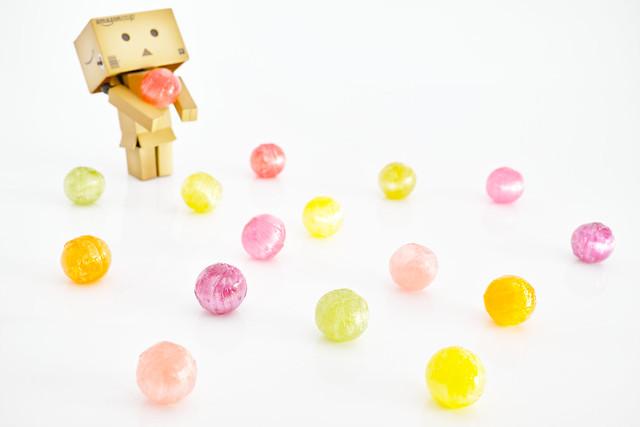 20121012_03_Danbo meets candies