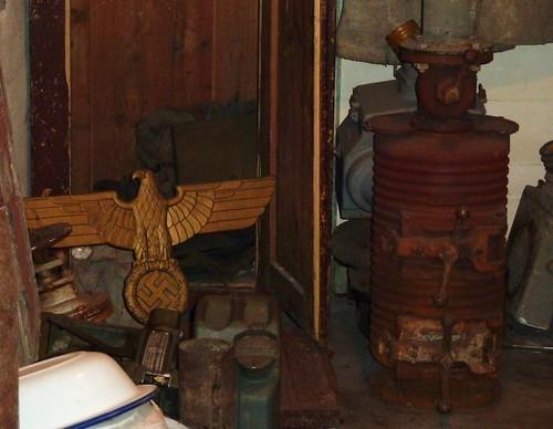 musée seconde guerre mondiale, la rochelle, objets, poele