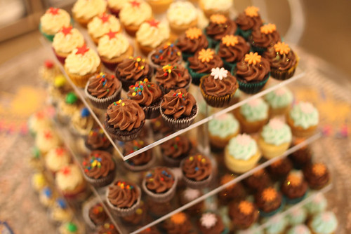 Mini Cupcake Display