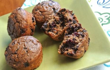 Black Forest Cherry Muffins