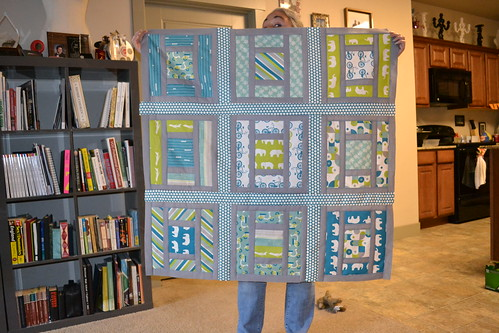 Lillian and Oliver Quilt Top