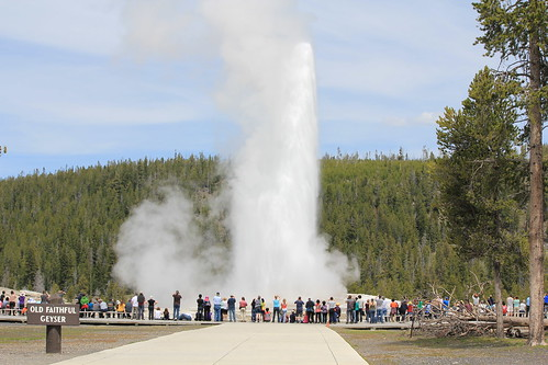 Old Faithful Blows Again