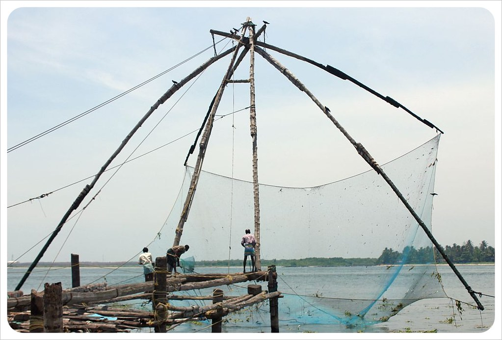 fort kochin chinese fishing net