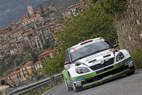 Škoda Motorsport Rally de San Remo 2012