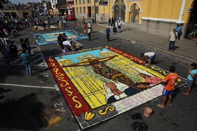 Celebrar La Semana Santa En Santiago De Surco