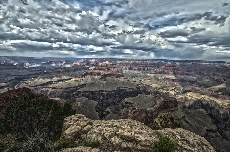 Clouds Over the South Rim
