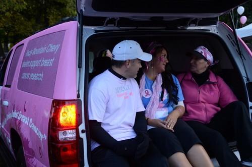 Team Myriad at Making Strides event