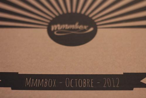 Mmmbox, octobre 2012