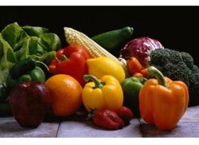 rainbow fruits veggies