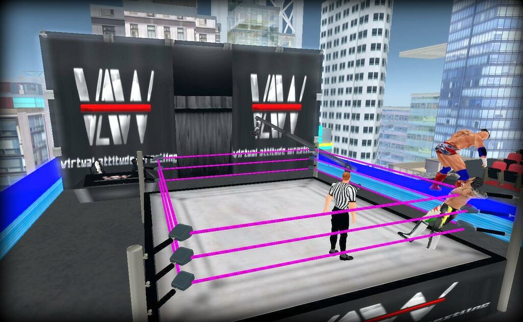 Virtual Attitude Wrestling