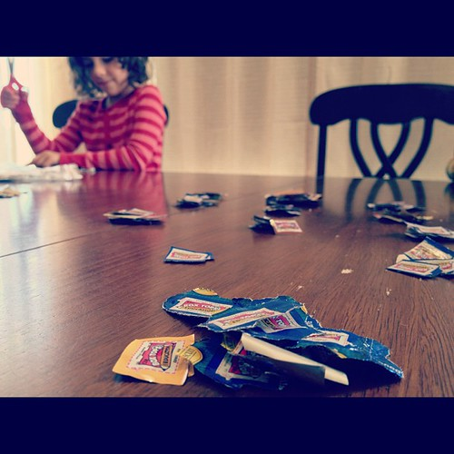 Cutting, counting, and sorting Box Tops constitutes as school work, right?