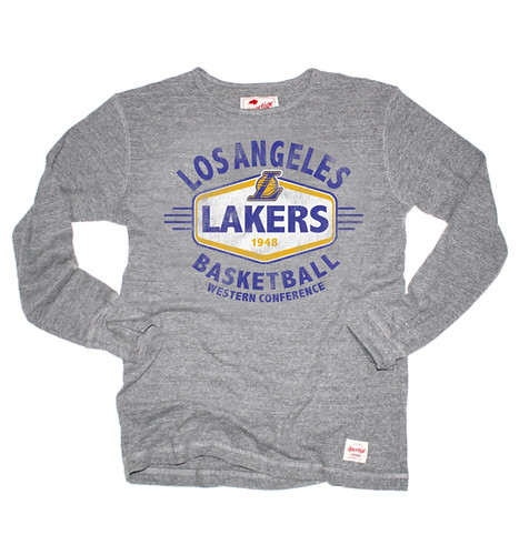Lakers Long Sleeve Morpheus Shirt By Sportiqe