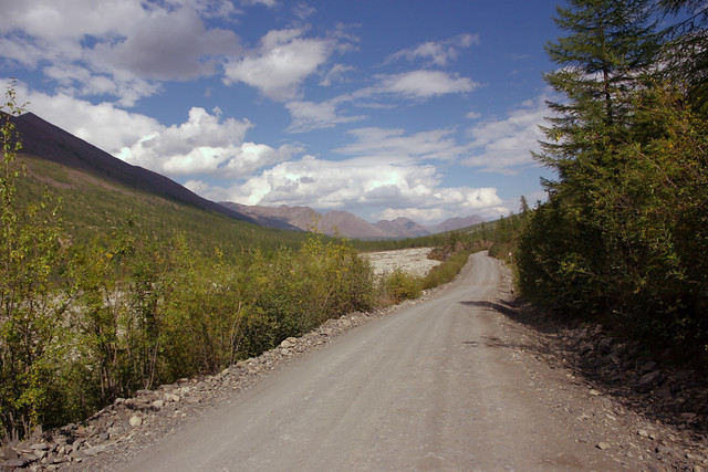 Kolyma road  2050 km