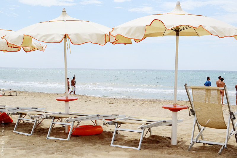 The Beach in Terracina