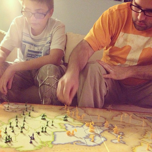 Epic game of Risk. #fallbreak