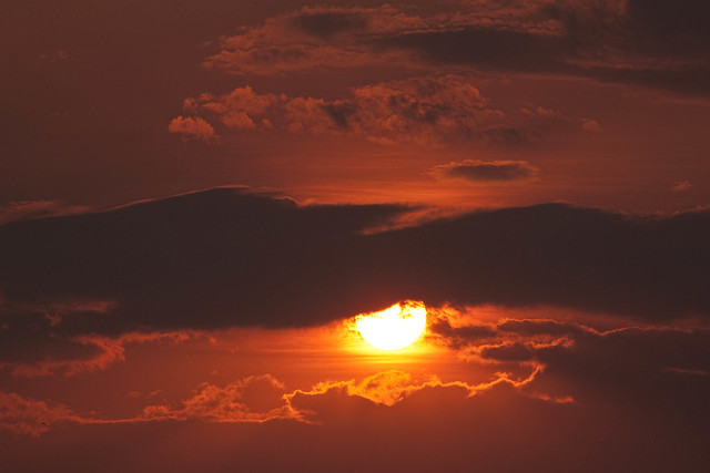 20121021 Smokey sky sunset - a closer view