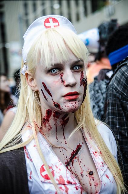 Sexy Zombie nurse