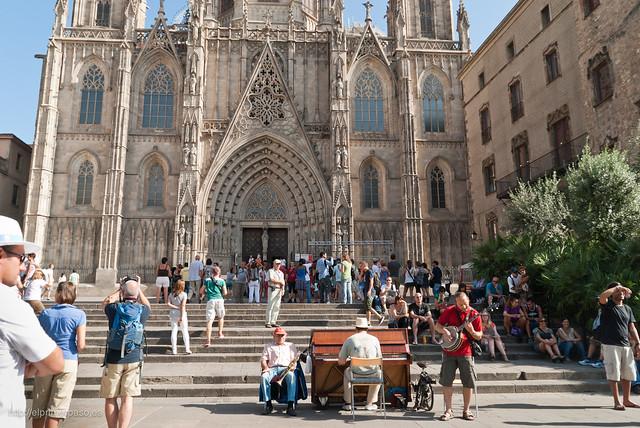 Barrio g�tico de Barcelona