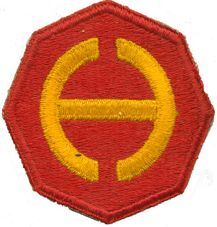 Central Pacific Base Command Uniform Patch