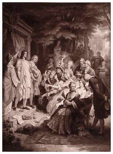 016-Goethe en Weimar-Goethe-Galerie…1867- W. von Kaulbach- Universität Düsseldorf