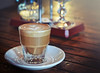 A Cortado at Taza a Social Coffee House ~ Arcadia, California by R. E. ~