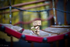 Danbo at the playground II
