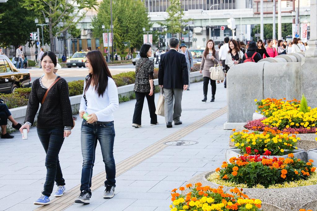 Sonezaki 1 Chome, Osaka-shi, Kita-ku, Osaka Prefecture, Japan, 0.006 sec (1/160), f/8.0, 80 mm, EF28-135mm f/3.5-5.6 IS USM