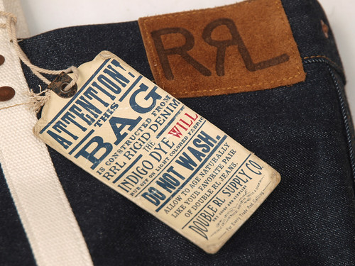 RRL / Rigid Denim Tote