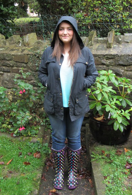wellies barbour