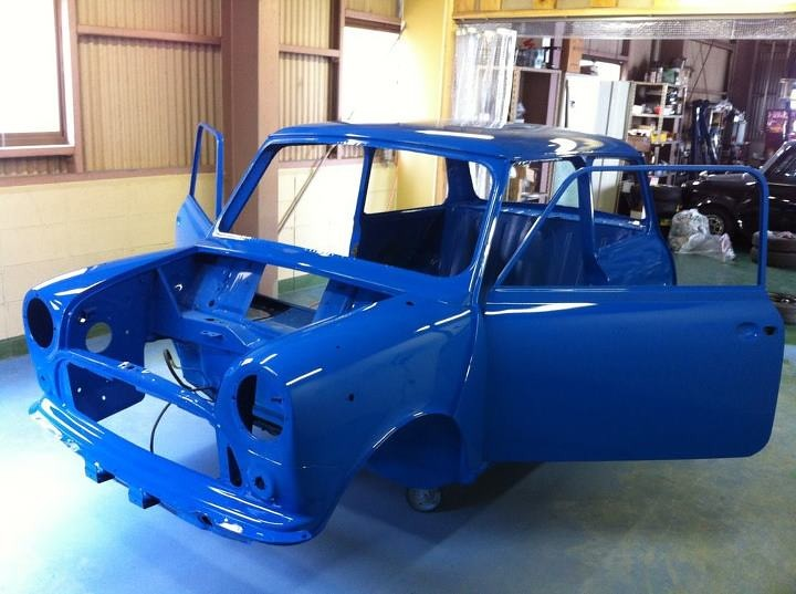 Making Blue MINI