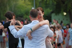 Dancing lessons in Gorky Park