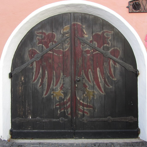 old door, kitzbuhel