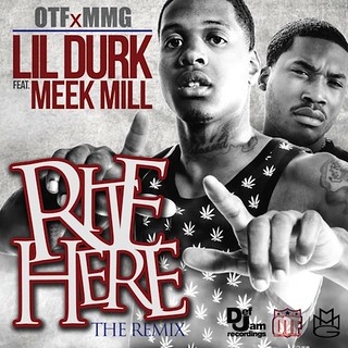 LIL DURK ft meek mill rite here remix