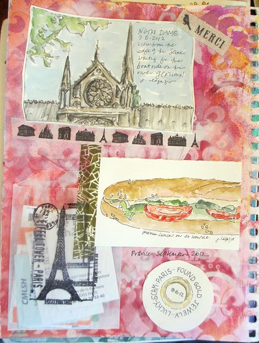 from my sketchbook ~ France