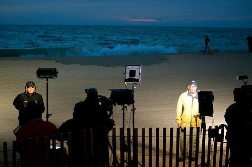 news outdoors alroker rehobothbeach nbcnews theweatherchannel stephanieabrams hurricanesandy alrokerstephanieabrams