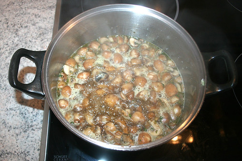 30 - Aufkochen lassen / Boil up