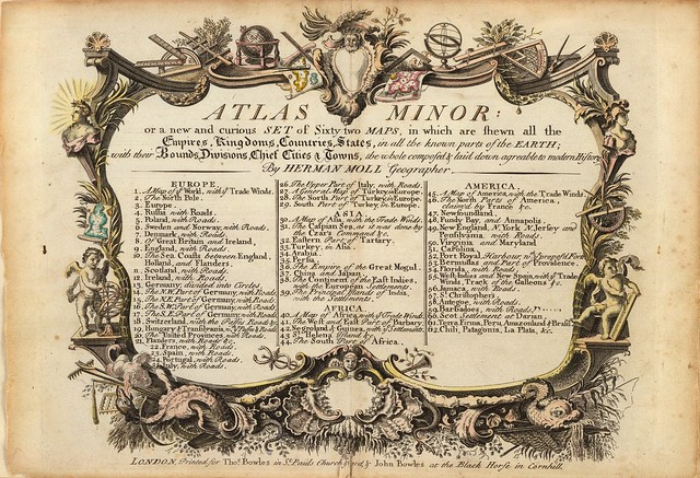 Atlas minor or a new and curious set of sixty two maps 1732