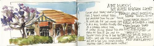 121029 Evening Sketching