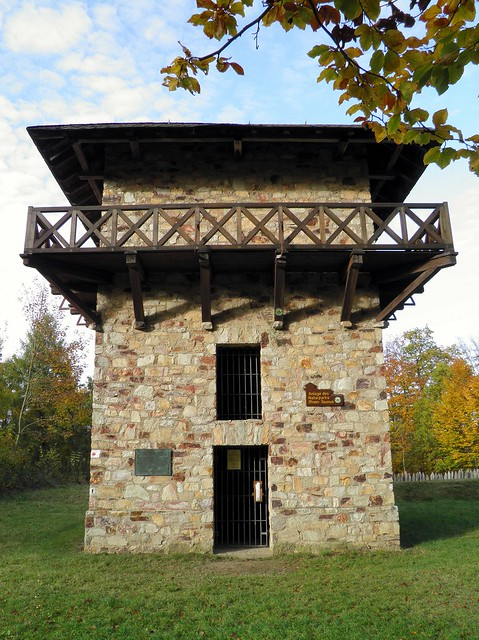 WP 3/15, Reconstructed watchtower (not historically correct)